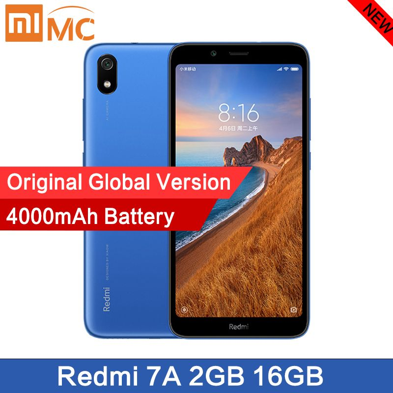 Original nouveau Xiaomi Redmi 7A Smartphone 5.45
