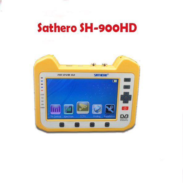 Sathero SH-900HD DVB-S2 Satellite Finder Meter mit Spectrum Analyzer Koaxial Digitale Überwachung Test Funktion