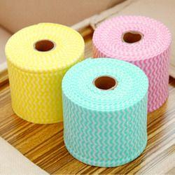 1 unids 65.6ft desechables algodón relajante Cara toalla cosmética Limpieza lavado de tela a mano