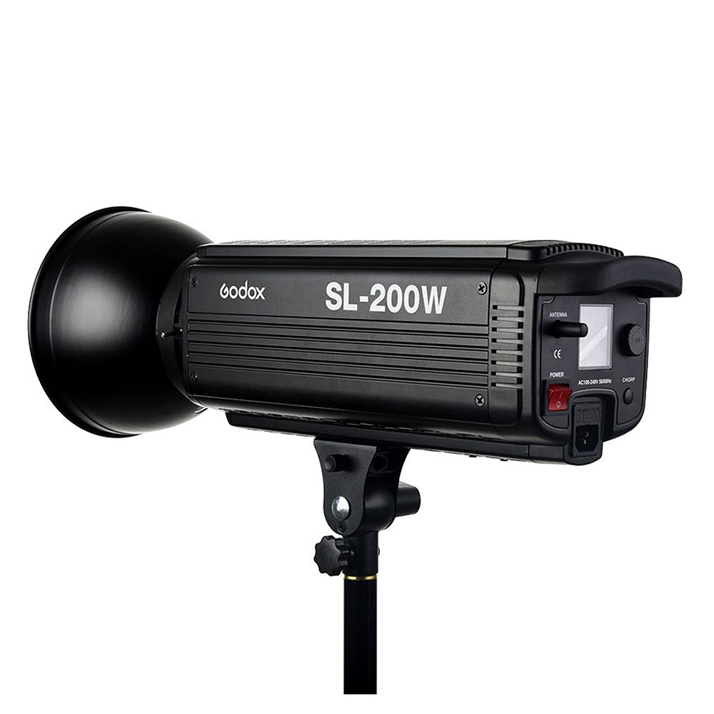 Godox SL-200W 200Ws 5600K LCD Panel White LED Video Light Continuous Output Bowens Mount photo Studio Lighting lamp