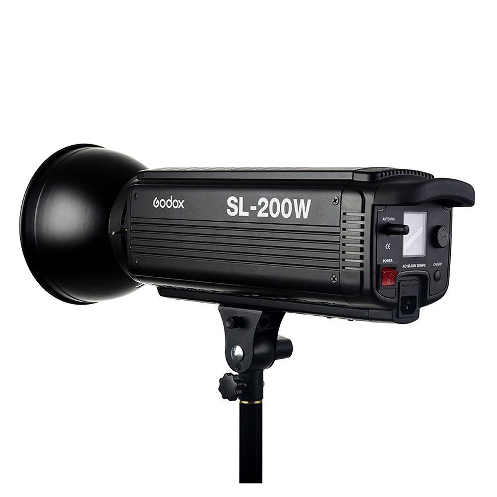 Godox SL-200W 200Ws 5600K Studio LED Continuous Photo Video Light Lamp w/ Remote