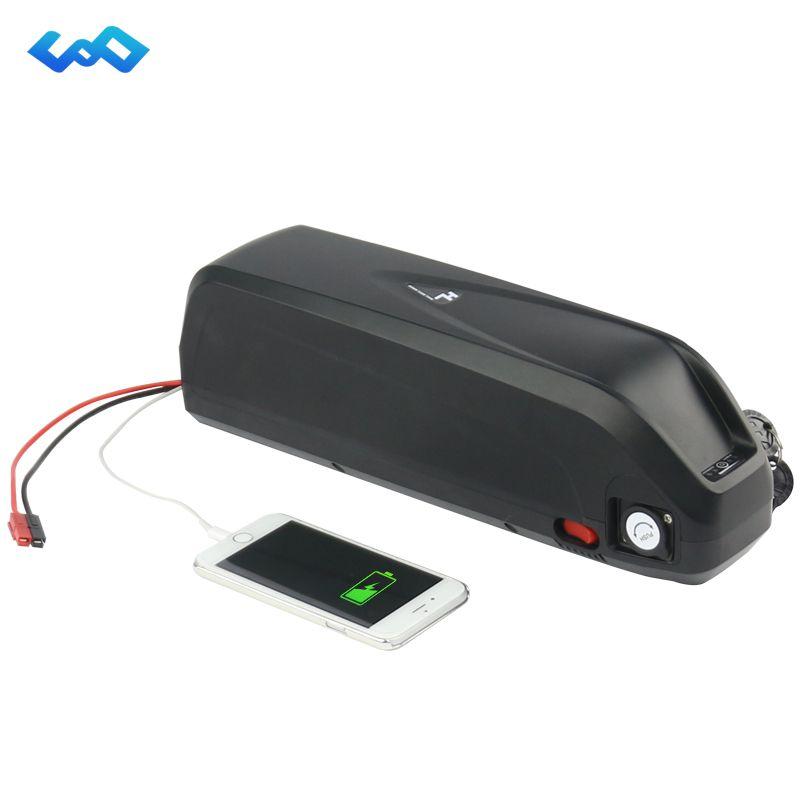 Freies Steuer Sanyo GA zelle 52 V 17.5Ah Neue Hailong Batterie 14S5P 1000 Watt High Power Unterrohr eBike Lithium ion Akku + Ladegerät