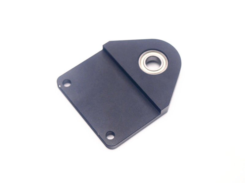 Funssor WANHAO D7 Anti wobble plate aluminum cover black anodized with bearing