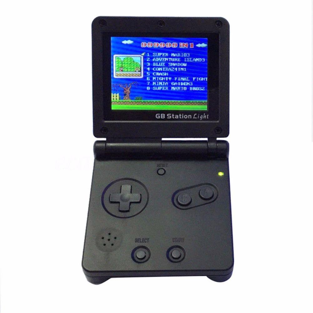 GB Station Lumière garçon SP PVP Rétro Mini Joueur De Jeu De Poche construit en 142 Jeux Portable Vidéo Console 2.7 ''LCD 8 Bits jeux