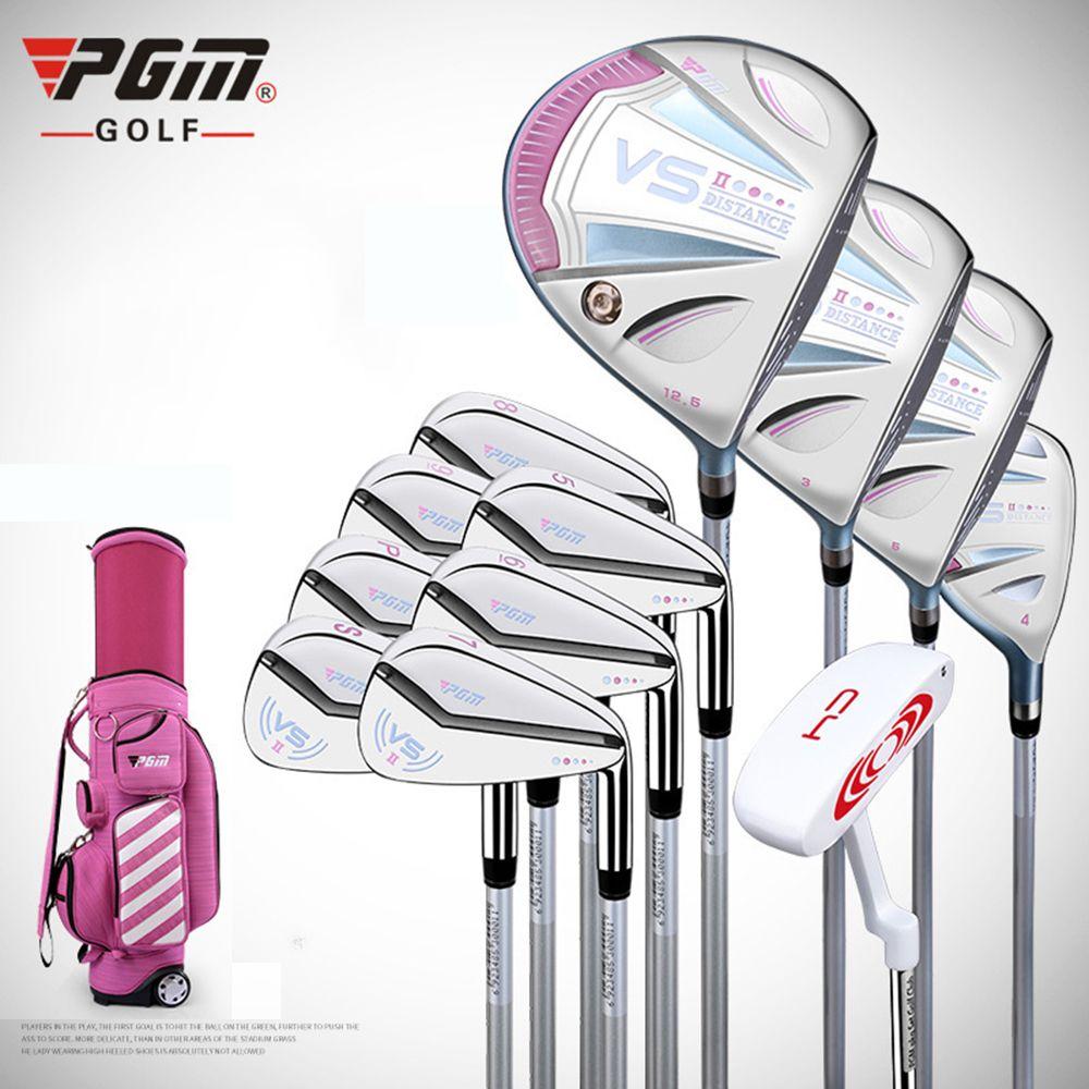 PGM VS II frauen Golf Komplette Set 1 Golf Standard Ball Tasche & 12 Golf Rechtshänder Clubs