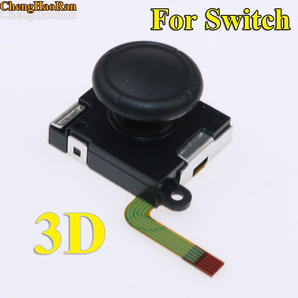 5pcs - 20PCS Black 3D analog joystick Thumb Sticks sensor replacement for Nintend Switch NS Switch Joy Con controller parts oem