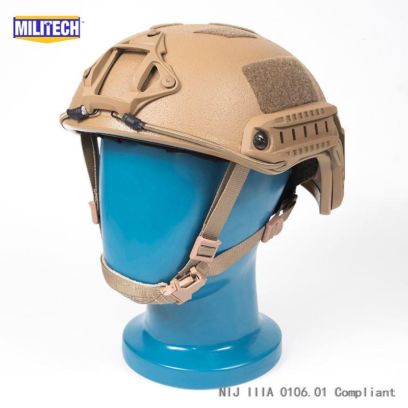 ISO Zertifiziert MILITECH 1,3 KG Lite CB Super High Cut Aramid Ballistischen Helm Licht Gewicht SWAT Kugelsichere Helm DEVGRU DICHTUNG