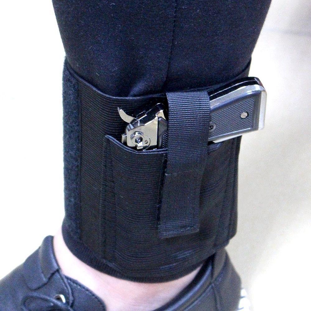 Verdeckte Trage Universal-pistolentasche Ankle Holster Rechts Links Ankle Pistol Holster für Mittel Klein Pistolen LCP LC9 PF9 Kleine