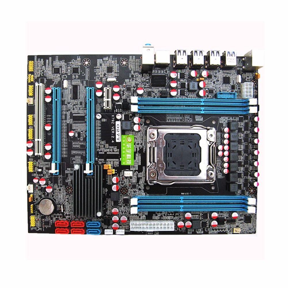 X79 Motherboard CPU RAM Combos LGA2011 REG ECC C2 Speicher 16g DDR3 4 Kanäle Unterstützung E5-2670 I7 Sechs Und acht Core CPU