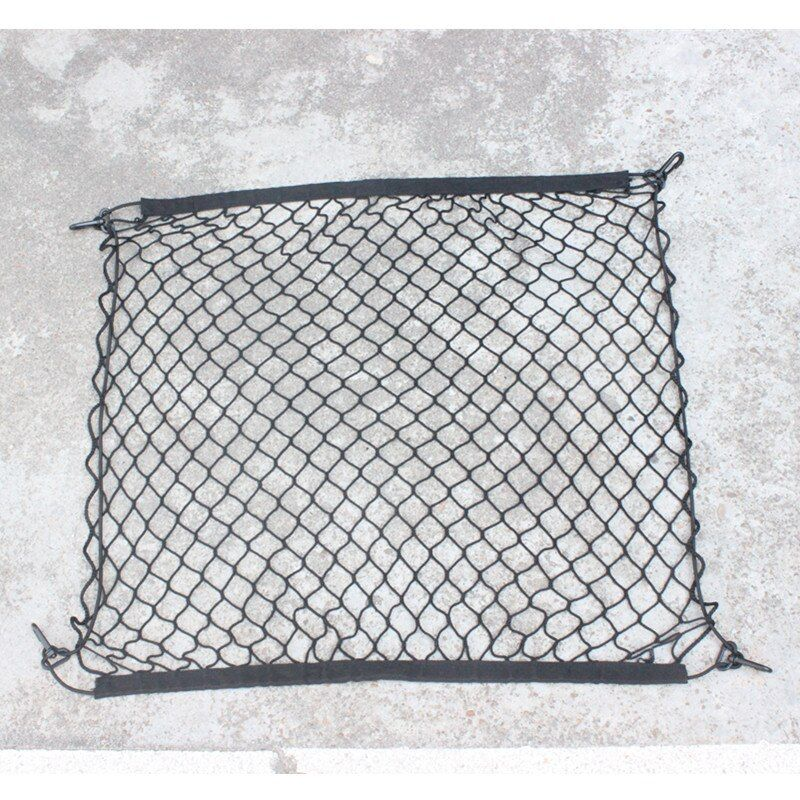4 HooK Car Trunk Cargo Mesh Net Luggage For Mercedes Benz W211 W221 W220 W163 W164 W203 W204 C E SLK GLK CLS GL