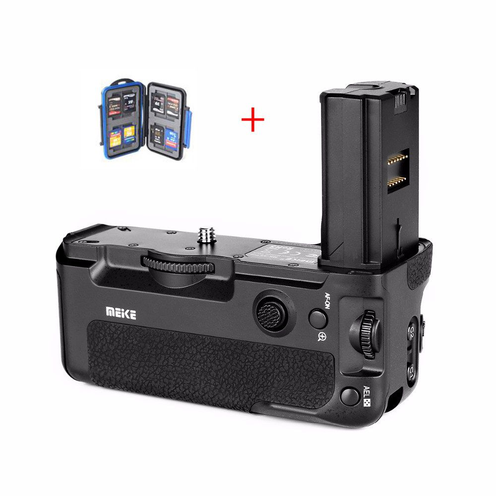 MEKE Meike MK A9 Battery Grip to Control shooting Vertical-shooting Function for Sony A9 A7RIII camera