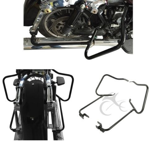 Sattel Halterung Schutz Crash Bars Für Harley Touring Straße Road Glide FLHX 14 + Road King Electra Glide Ultra FLHR 2014-2018