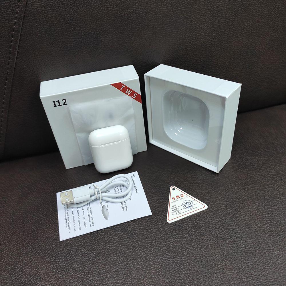 SWZYOR Mini i12 TWS Bluetooth 5.0 écouteurs sport vrai sans fil écouteurs tactile écouteurs boîte de charge magnétique PK i10 i11
