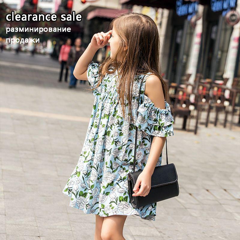 Robe d'été pour filles 10 12 ans robe adolescente en mousseline de soie robes en coton pour enfants grandes filles vêtements