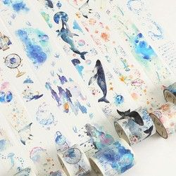 20 Style Fantasy Star Ocean Adhésif Washi Bande Kawaii DIY Masquage bandes Décoratives Pour Scrapbooking Photo Album