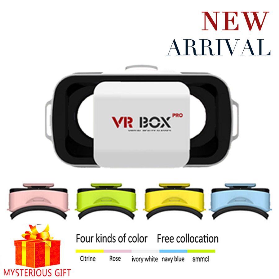 Casque Vrbox VR 3.0 Pro 3D 3 D Box Virtual Reality Glasses Goggles Headset Helmet For Smartphone Smart Phone Google Cardboard