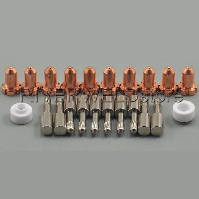 9-4476 Plasma Spitze & 9-6006 Elektrode 9-6007 Swirl Ring Fit Thermische Dynamik PCH-M25 Taschenlampe, 22PK