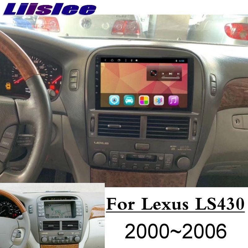 Für Lexus LS LS430 XF30 Für Toyota Celsior 2000 ~ 2006 Liislee Auto Multimedia Player NAVI Bildschirm CarPlay Radio Karten GPS Navigation