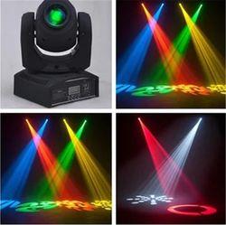 Vente chaude Mini Spot 30 W LED Moving Head Light Avec Gobos Plaque & Couleur Plaque, Haute Luminosité 30 W Mini Led Moving Head Light DMX512