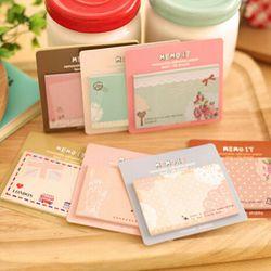 Pabrik penjualan langsung lucu kenyamanan STIKER KARTU catatan dari Korea alat tulis siswa portabel N post stiker hadiah kecil