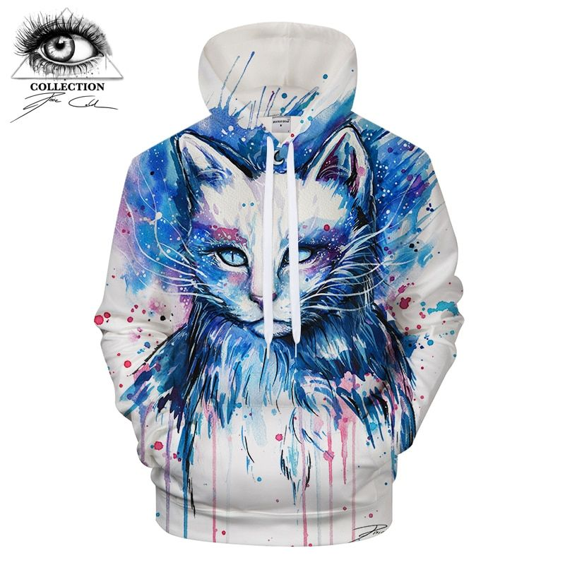 Space by Pixie cold Art Hoodie Mens Sweatshirt Hoody 2018 Unisex Tracksuits Pullover Plus Size Drop Ship ZOOTOP BEAR