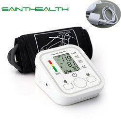 Дома Здоровье и гигиена 1 шт. цифровой ЖК предплечье Приборы для измерения артериального давления Мониторы Heart Beat Meter машина тонометр для изм...