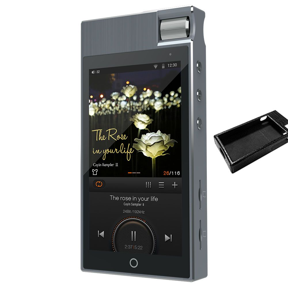 Cayin N5ii+case Android Based Master Quality Digital Audio Player Android balanced lossless music HiFi player MP3 player DSD