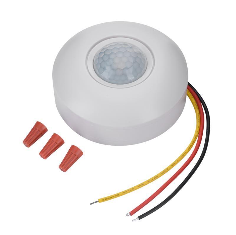 12 v Infrarot PIR Motion Sensor Schalter mit Zeit Verzögerung 360 Grad Kegel Winkel Erkennung Induktion Sensor Für LED Decke licht Neue