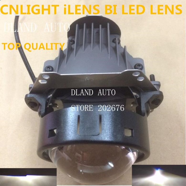 DLAND CNLIGHT YIKE iLENS 3 BI LED PROJECTOR LENS , EASY INSTALLATION, 35W POWER WITH EXCELLENT BEAM