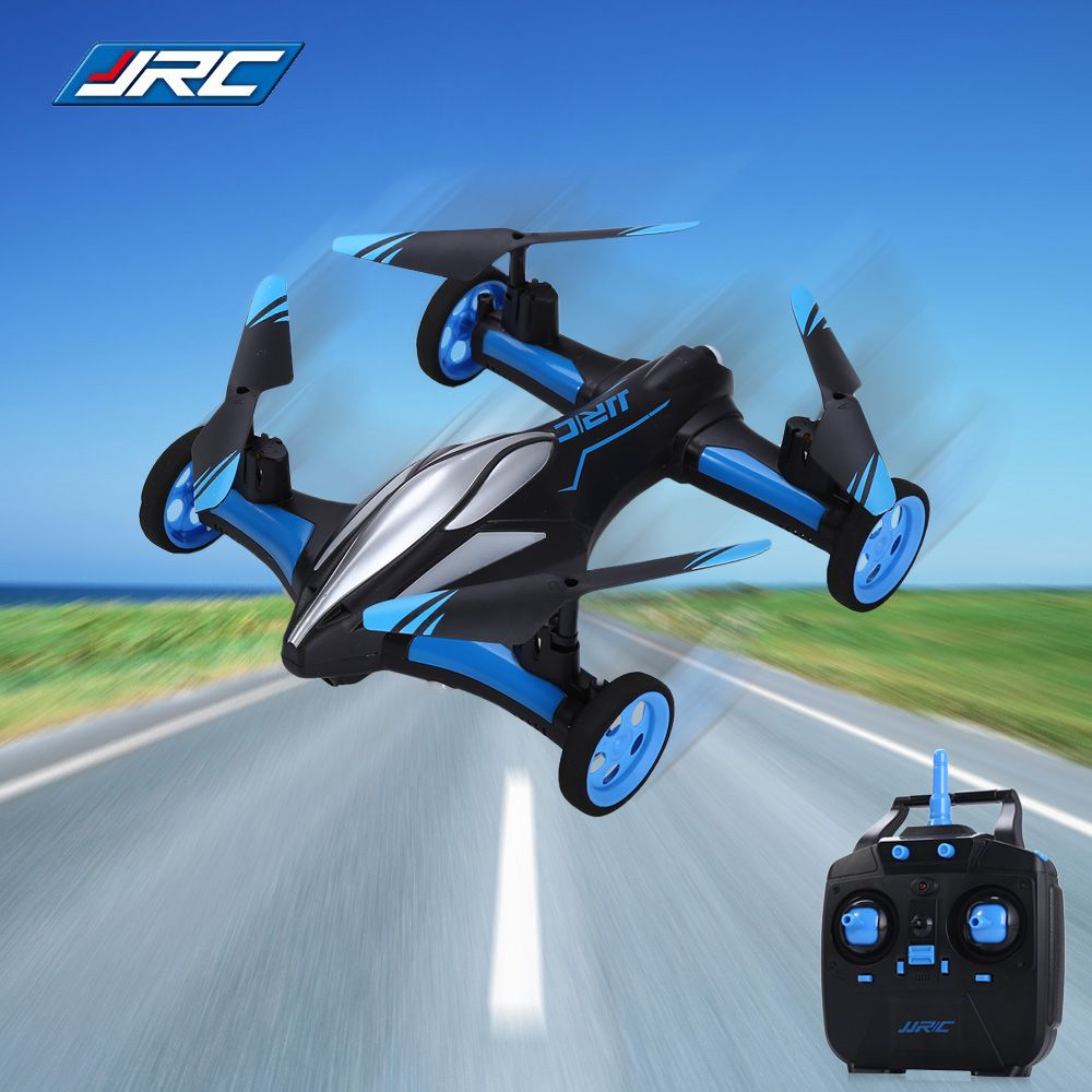 Original JJRC H23 2.4G 4CH 6-Axis Gyro Air-Ground Flying Car RC Drone RTF Quadcopter With 3D Flip One-Key Return Headless Mode