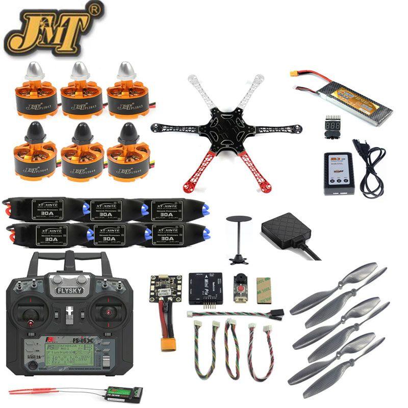Full Set DIY Drone F550 Frame Kit 2.4G 10CH Remote Cotroller Radiolink PIX M8N GPS PIXHAWK Altitude Hold FPV Upgrade Hexacopter