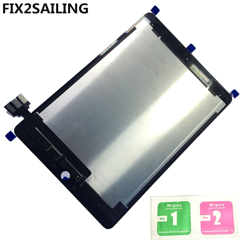 Display A1673 For Apple iPad Pro A1673 A1674 A1675 9.7  100% New Grade LCD Display Touch Screen Digitizer Assembly Replacement