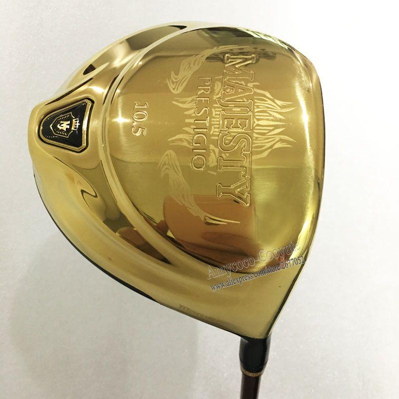 New Maruman Golf Clubs Majesty Prestigio 9 Golf Driver 9.5 Loft Graphite Golf shaft Right Handed Driver Free shipping Cooyute