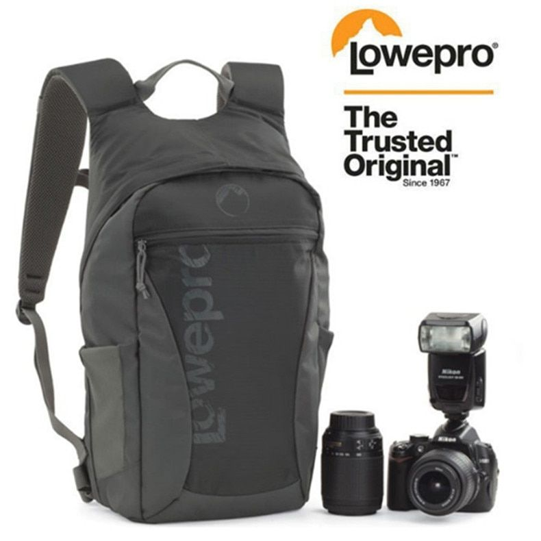 Fast shipping NEW Lowepro Photo Hatchback 22L AW shoulders camera bag Anti-theft package knapsack Weather Cover