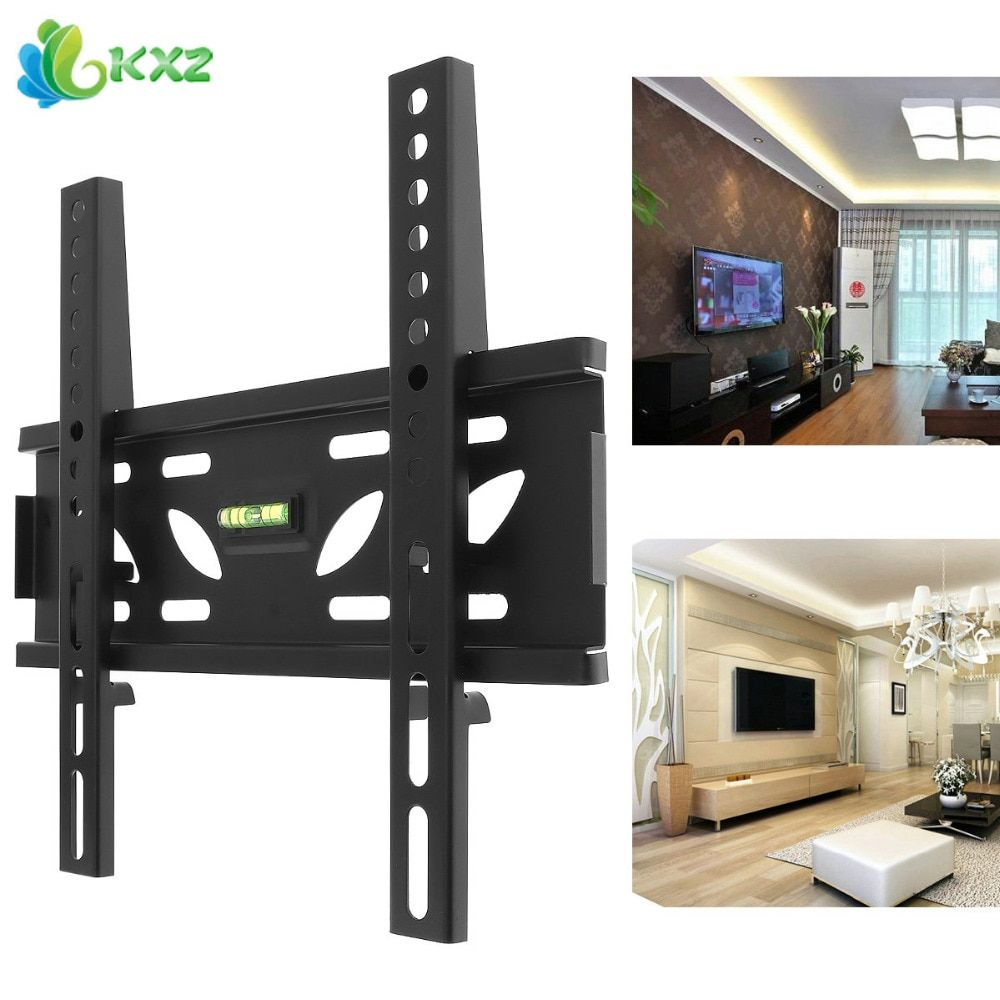 Universal TV Wall Mount Bracket Flat Panel TV Frame Stand Holder with Level Standard for 10-32 Inch LCD LED Monitor Plasma TV