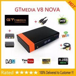GTMEDIA V8 NOVA Receptor FREESAT V9 SUPER Receptor TV satélite DVB-S2 WIFI incorporado soporte PowerVu y Biss DLNA, SAT a IP