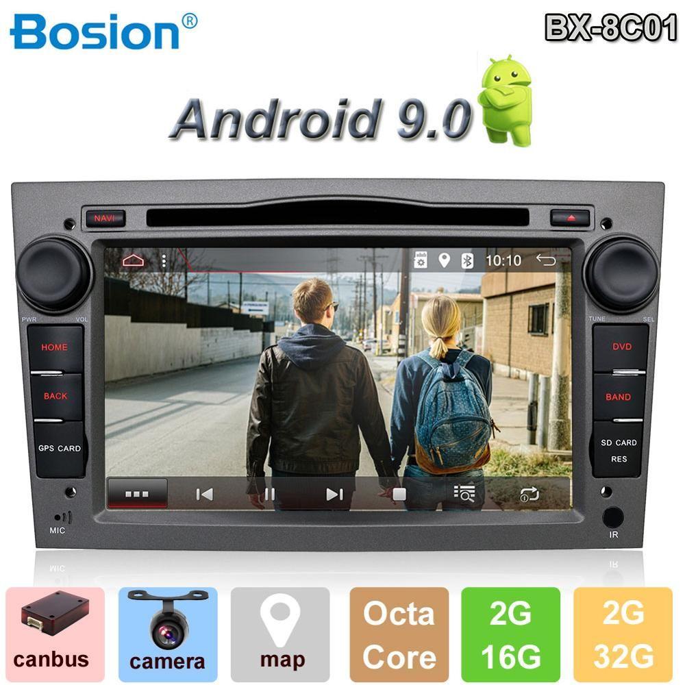 Bosion Android 9.0 2din auto radio gps navi auto dvd player für Opel astra/vectra/zafira auto stereo kopf einheit mit bluetooth wifi