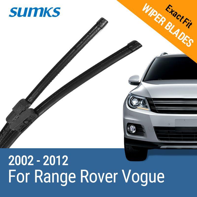 SUMKS Limpiaparabrisas para Land Rover Range Rover Vogue 26
