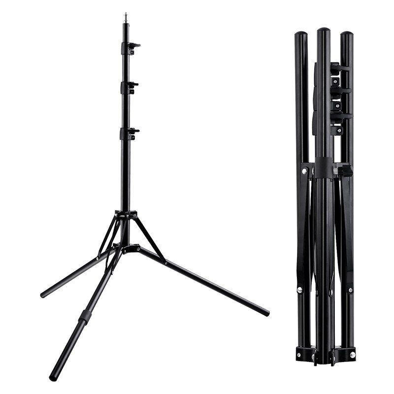 Fosoto Tripod Light Stand &1/4 Screw portable Head Softbox For Photo Studio Photographic Lighting Flash Umbrellas Reflector