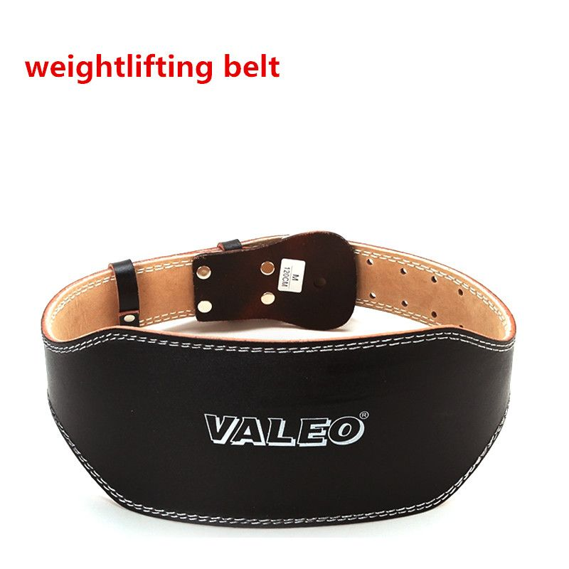 Weightlifting Belt Waist Leather Weight Lifting Belt Pesas Gym Fitness Wide Support Training Crossfit Belt