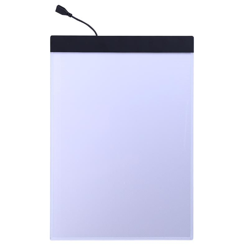 USB LED A4 Paper LED Copy Pad Desk Art Drawing Tracing Stencil Board Touch Type Artist Table Plate Kids Writing Painting Tablet
