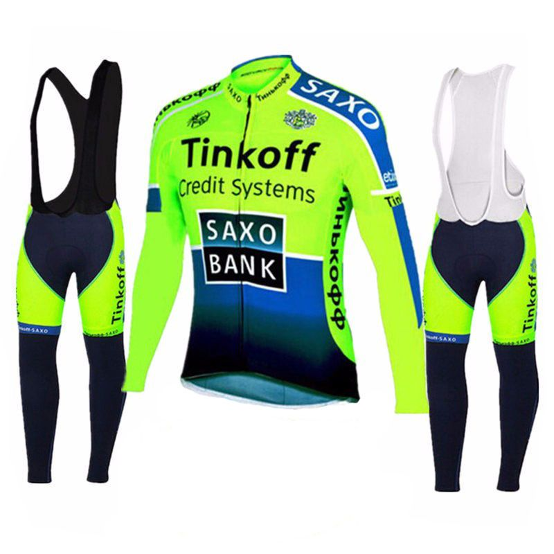 Tinkoff 2016 Pro Team Long Sleeve Cycling Jersey Racing Bike Clothing MTB Bicycle Clothes Wear Ropa Ciclismo Bicycle Cycling Clo