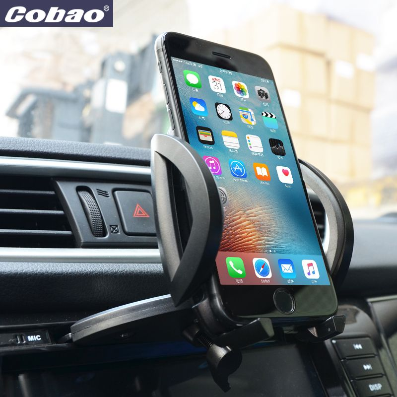 Cobao Universel CD Fente De Téléphone portable de Support Pour iPhone 5 6 Plus Pour Samsung Galaxy Mobile Téléphone GPS Support Supports