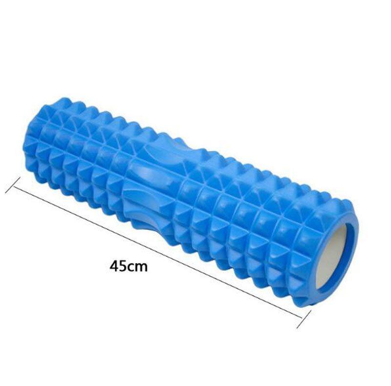 2017 neue 45 cm Raster Schaumstoffrolle Fitness pilates Eva-schaum Yoga Roller für muskelschmerzen Gym Übung schaumstoffrolle massage