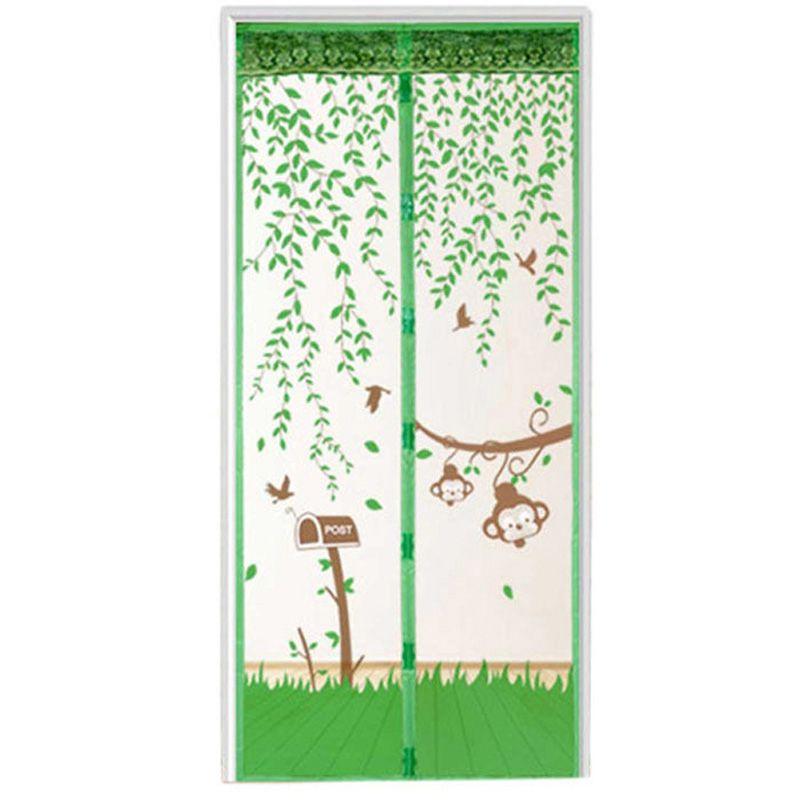 1 STÜCK Durable Tür Vorhang Sommer Mesh Moskito Verhindern Tür Bildschirm Küche Fenster Vorhänge Tüll Tür-bildschirme