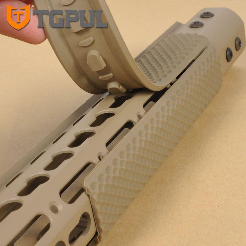 TGPUL KeyMod Handschutz Rail Deckt Soft Rubber Hand Schutzfolie Abdeckung Taktische Guad Schiene Panels Jagd Zubehör