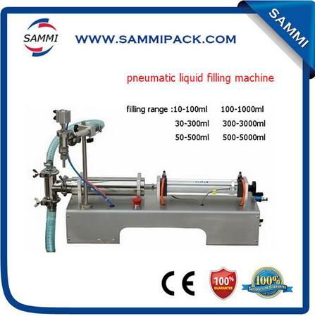 Free shipping, factory price semi automatic water juice milk liquid filling machine with CE