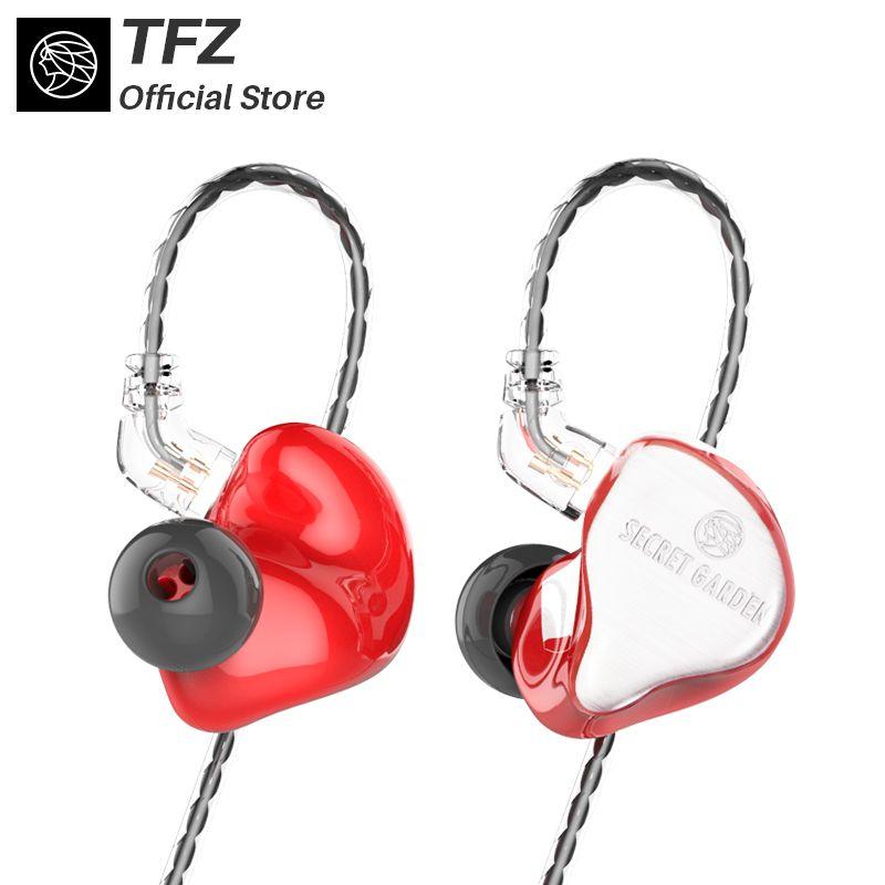 The Fragant Zither/2018 SECRET GARDEN HIFI Neckband earphones, TFZ In-ear Headset Heavy Bass Quality Music Earphones