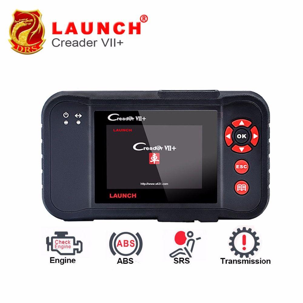 Newest Launch Creader VII+ Auto Code Reader Launch X431 Creader VII Plus Engine ABS SRS Braking System Auto Scanner Creader 7+