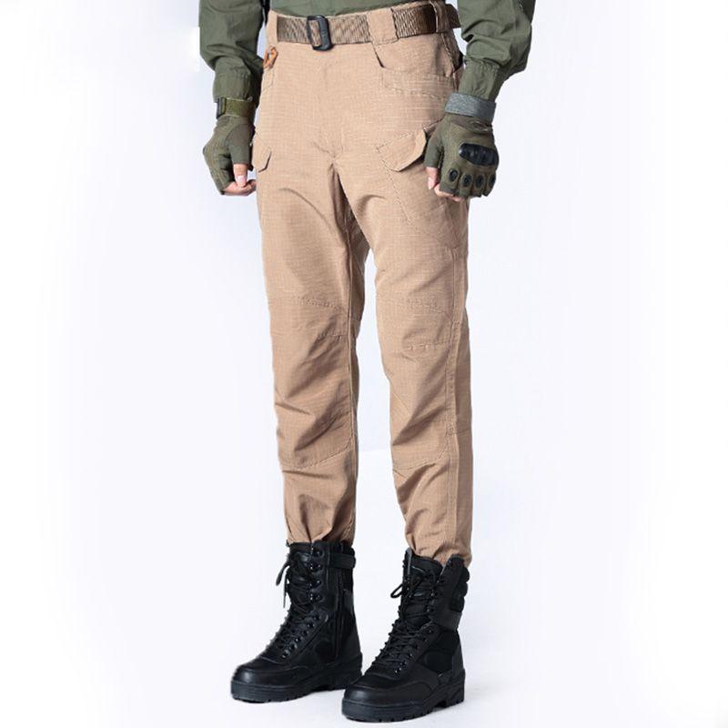 Hommes En Plein Air Sport Randonnée Pantalon Tactique Escalade En Plein Air Pantalons Hommes Chasse Vêtements Hommes Coupe-Vent Imperméable Pantalon GB-008